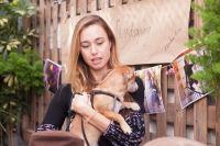 Mowgli Rescue & Rahicali's Furry Friendsgiving at The Butcher's Daughter #11