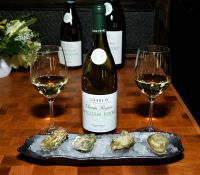 Oysters and Chablis hosted by William Févre Chablis #22