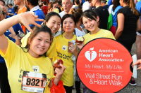 The 2017 American Heart Association Wall Street Run & Heart Walk #254