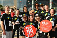 The 2017 American Heart Association Wall Street Run & Heart Walk #53