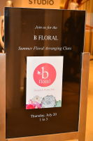 B Floral Summer Press Event at Saks Fifth Avenue's The Wellery #27