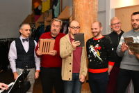 Deck The Halls - A Designer Holiday Tree Lighting at Housing Works Chelsea #71