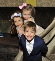 Hyacinth Cornelia Heinemann Celebrates Her First Communion at The Carlyle Hotel #129