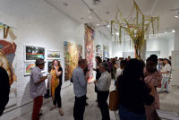 Art and Social Activism Festival opening reception #2