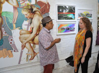 Art and Social Activism Festival opening reception #48