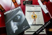 Quiet Lunch Magazine Launch #19