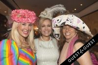 Socialite Michelle-Marie Heinemann hosts 6th annual Bellini and Bloody Mary Hat Party sponsored by Old Fashioned Mom Magazine #145