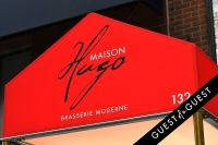 Florian & Michelle Hugo Invite to Opening Maison Hugo #3
