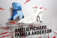Pamela Anderson Celebrates Vegan Shoe Collaboration with French Designer Amelie Pichard #11