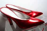 Pamela Anderson Celebrates Vegan Shoe Collaboration with French Designer Amelie Pichard #15