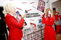 Pamela Anderson Celebrates Vegan Shoe Collaboration with French Designer Amelie Pichard #51