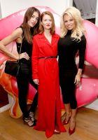 Pamela Anderson Celebrates Vegan Shoe Collaboration with French Designer Amelie Pichard #61