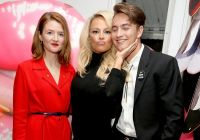 Pamela Anderson Celebrates Vegan Shoe Collaboration with French Designer Amelie Pichard #62