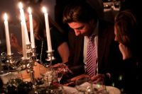The Supper Club NY & Zink Magazine Host a Winter Wonderland Open House Party #9