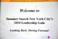 Summer Search New York City's 2010 Leadership Gala #33