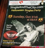 SingleAndTheCity.com Hosts Halloween Singles Party #46
