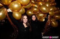 "MARTINI ""LET'S GO"" SPLASHING THE NYC SKY WITH GOLD BALLOONS #2"