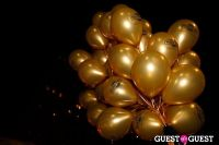 "MARTINI ""LET'S GO"" SPLASHING THE NYC SKY WITH GOLD BALLOONS #12"