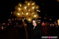 "MARTINI ""LET'S GO"" SPLASHING THE NYC SKY WITH GOLD BALLOONS #17"