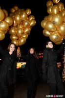 "MARTINI ""LET'S GO"" SPLASHING THE NYC SKY WITH GOLD BALLOONS #20"