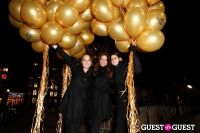 "MARTINI ""LET'S GO"" SPLASHING THE NYC SKY WITH GOLD BALLOONS #21"