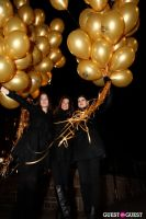 "MARTINI ""LET'S GO"" SPLASHING THE NYC SKY WITH GOLD BALLOONS #22"
