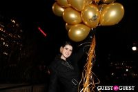"MARTINI ""LET'S GO"" SPLASHING THE NYC SKY WITH GOLD BALLOONS #24"