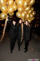 "MARTINI ""LET'S GO"" SPLASHING THE NYC SKY WITH GOLD BALLOONS #27"