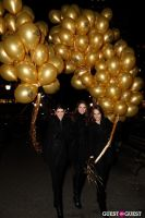 "MARTINI ""LET'S GO"" SPLASHING THE NYC SKY WITH GOLD BALLOONS #28"