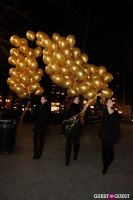 "MARTINI ""LET'S GO"" SPLASHING THE NYC SKY WITH GOLD BALLOONS #42"