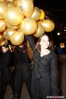 "MARTINI ""LET'S GO"" SPLASHING THE NYC SKY WITH GOLD BALLOONS #43"