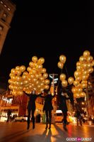 "MARTINI ""LET'S GO"" SPLASHING THE NYC SKY WITH GOLD BALLOONS #62"