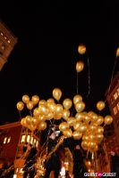 "MARTINI ""LET'S GO"" SPLASHING THE NYC SKY WITH GOLD BALLOONS #67"