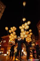 "MARTINI ""LET'S GO"" SPLASHING THE NYC SKY WITH GOLD BALLOONS #68"