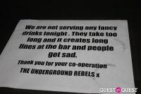 Underground Rebel Bingo #125
