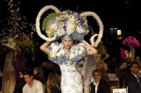 VillageCare's Tulips and Pansies Headdress Runway Show #41