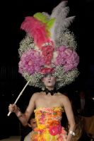 VillageCare's Tulips and Pansies Headdress Runway Show #54