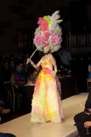 VillageCare's Tulips and Pansies Headdress Runway Show #55