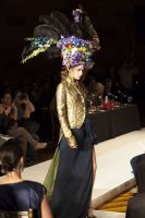 VillageCare's Tulips and Pansies Headdress Runway Show #65