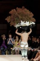 VillageCare's Tulips and Pansies Headdress Runway Show #66