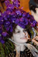 VillageCare's Tulips and Pansies Headdress Runway Show #122