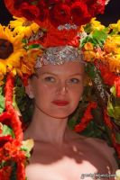 VCNY - Tulips & Pansies- A Headdress Affair - Runway and Backstage #52