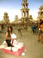Julia Allison Does Burning Man #2