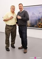 Kim Keever opening at Charles Bank Gallery #51