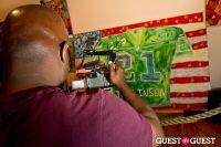 Bermano Art Exhibition Hosted By NY Jet Ladainian Tomlinson #77