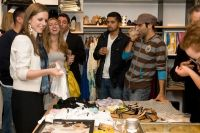 cmarchuska spring/summer 2009 collection trunk show hosted by Kaight and Entertainment Sixty 6 #7