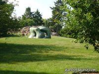 Henry Moore At New York Botanical Gardens #1
