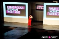 Fame Rocks Fashion Week 2012 Part 1 #24