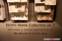 BOSS Home Bedding Launch event at Bloomingdale's 59th Street in New York #3