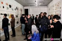Jorinde Voigt opening reception at David Nolan Gallery #1